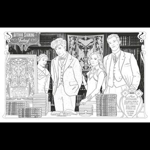 Warner Bros. Office - The Crimes of Grindelwald Colouring Book